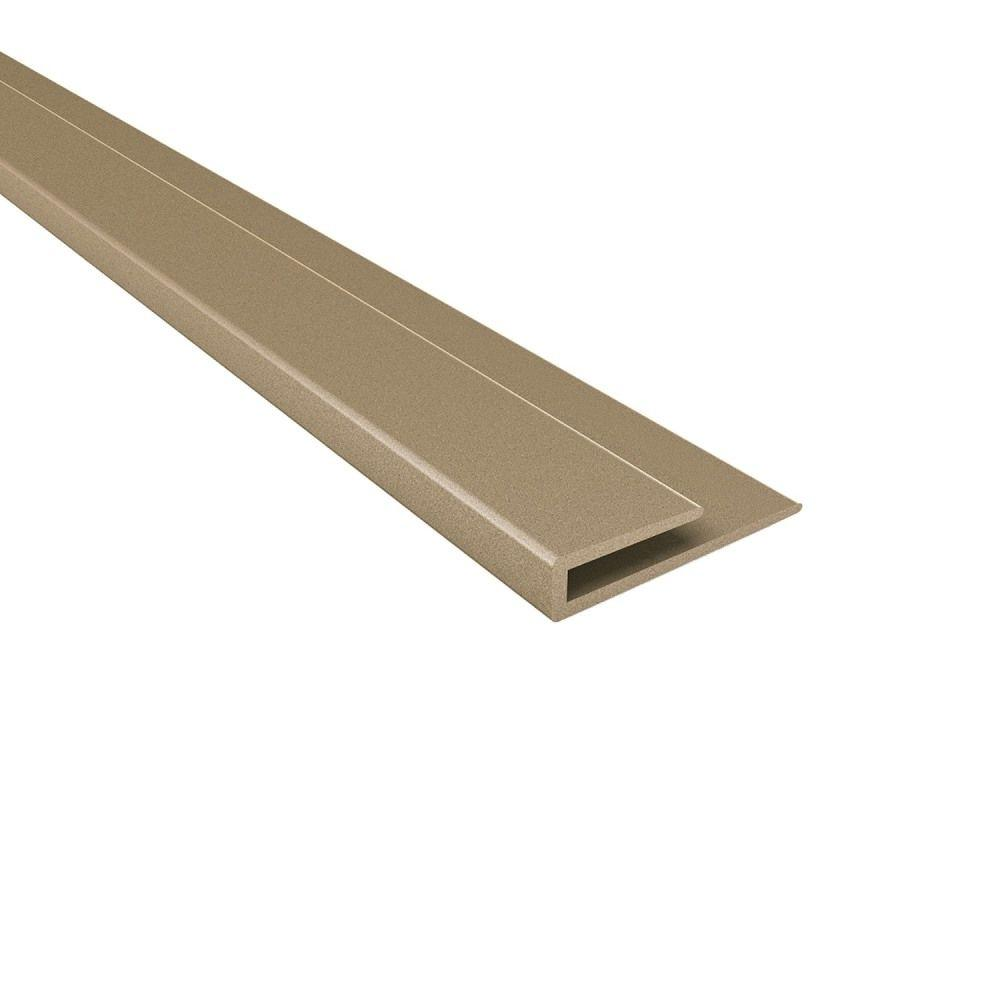 4 ft. Argent Bronze Large Profile J-Trim
