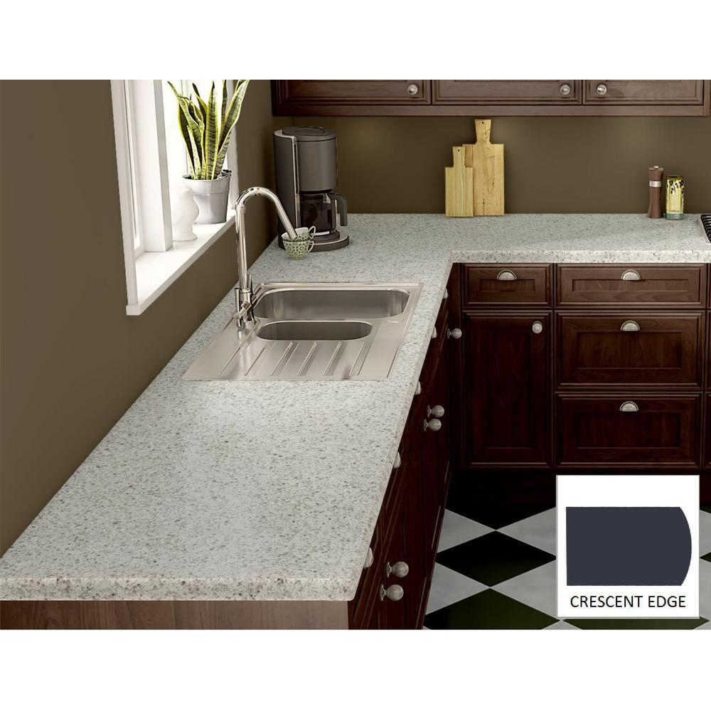 Laminate Countertops Product : Wilsonart pearl soapstone laminate custom crescent edge c