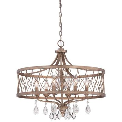 West Liberty 6-Light Olympus Gold Chandelier