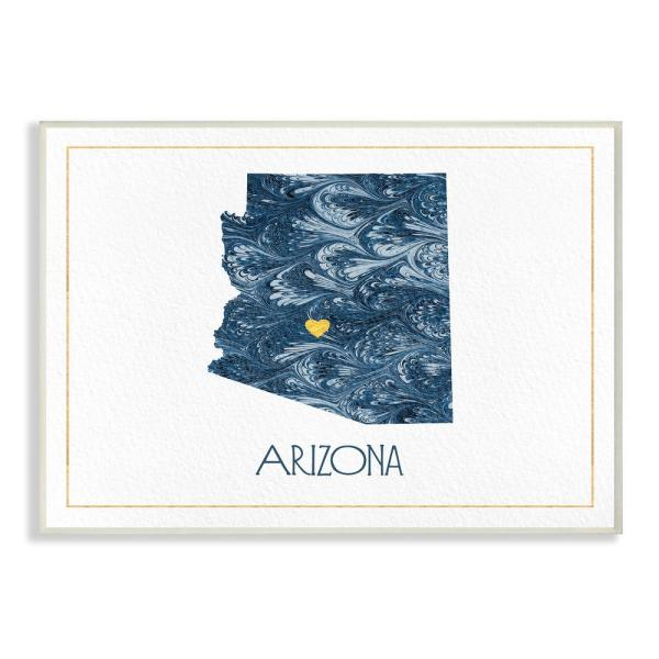 The Stupell Home Decor Collection 10 in. x 15 in. ''Arizona