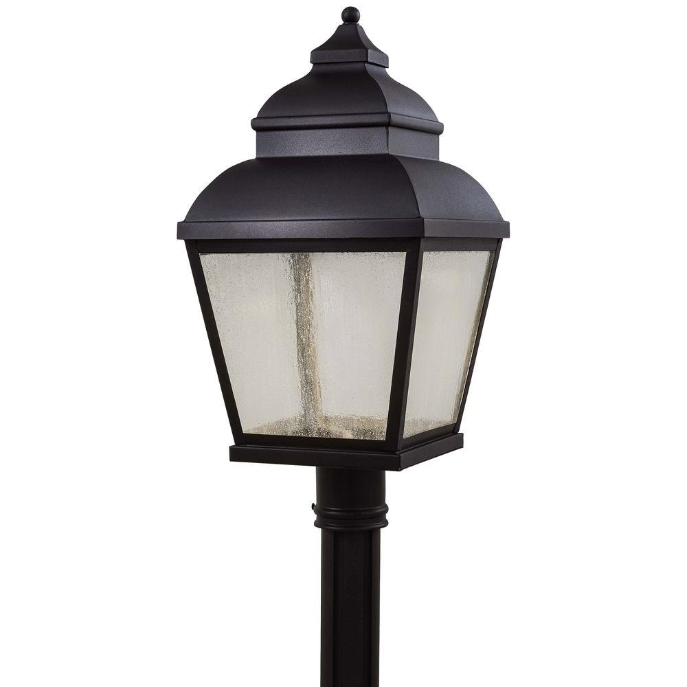 THE GREAT OUTDOORS Mossoro LED -Light Black Outdoor LED P...