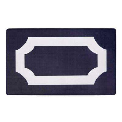 Darcy Navy 18 in. x 30 in. Anti-Fatigue Mat