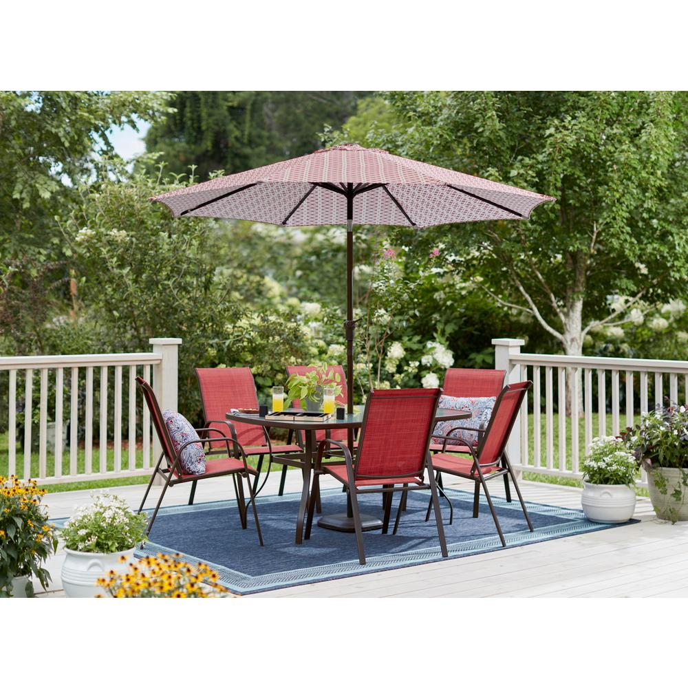 This Review Is From Mix And Match Brown Stackable Sling Outdoor Dining Chair In Chili 2 Pack