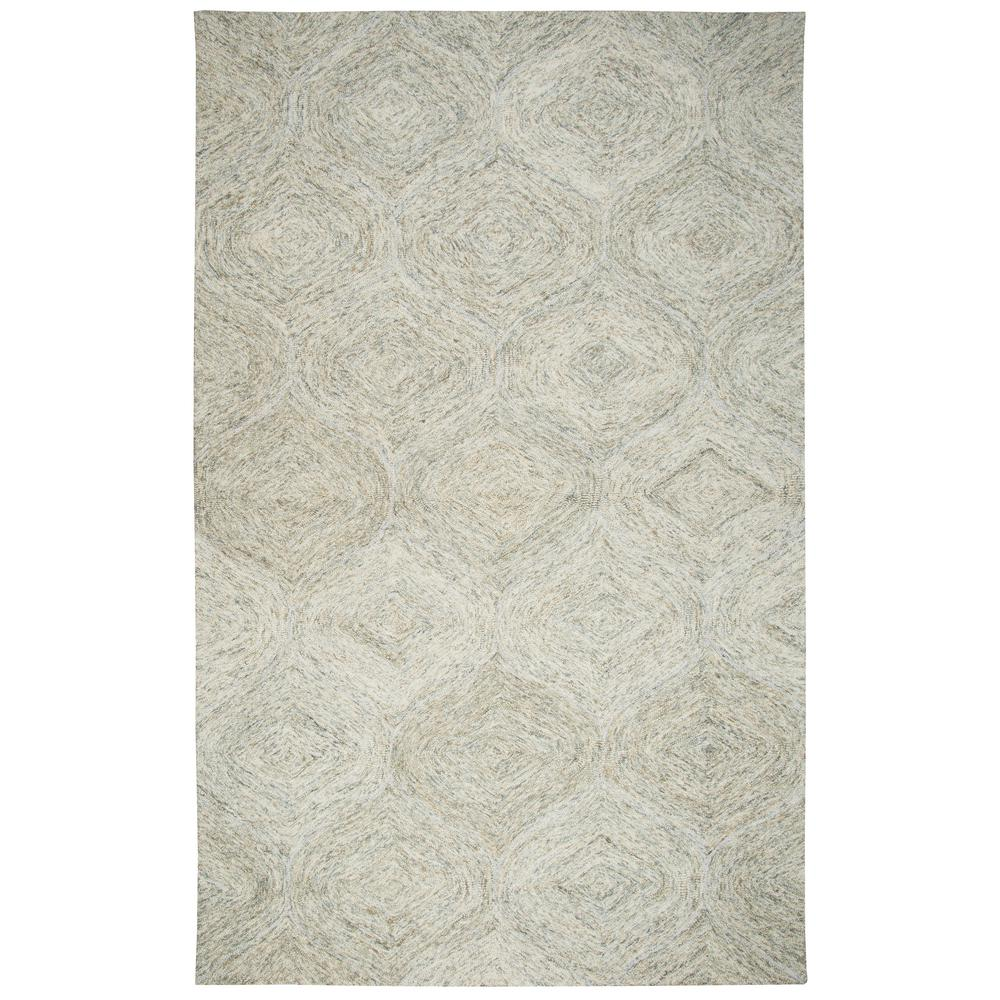 Rizzy Home Brindleton Beige Trellis 8 Ft X 10 Area Rug Bribr365a00040810 The Depot