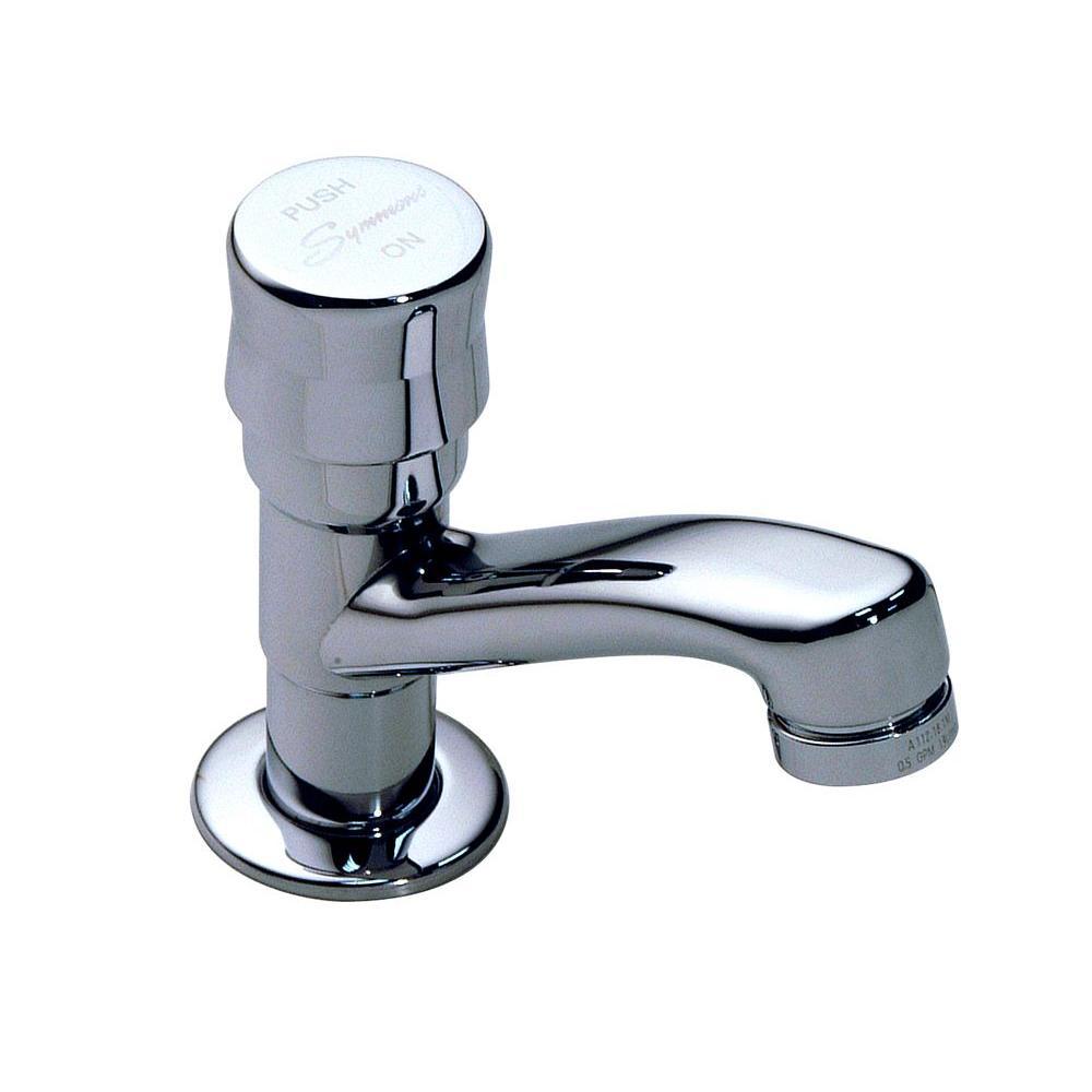 Symmons Scot Single Hole Single-Handle Bathroom Faucet in Chrome
