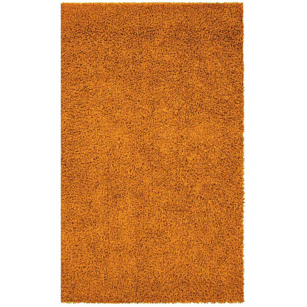 Home Decorators Collection Nitro Gold 2 ft. 3 in. x 7 ft. 9 in. Shag Area Rug