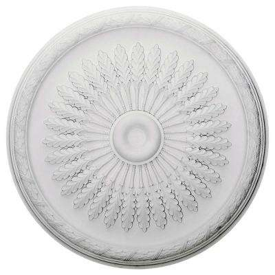 36 in. O.D. x 1-1/2 in. P Juniper Ceiling Medallion