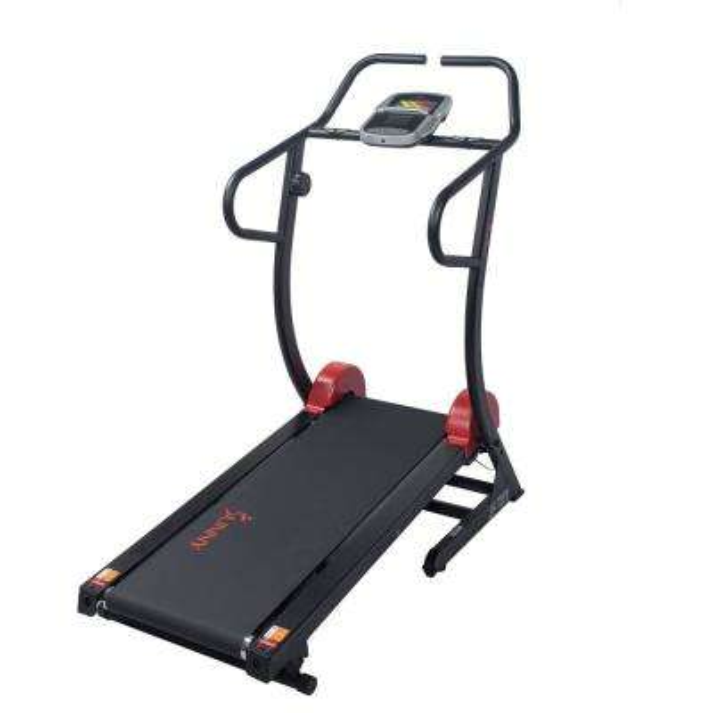 Self Powered Manual Treadmill, 300+ lbs. High Weight Capacity, Non-Motorized