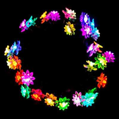 30 LED Multi-Color Flower String Light
