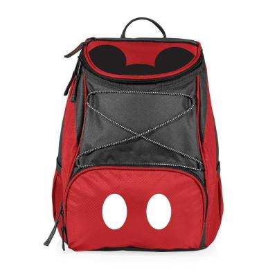 7.5 Qt. 20-Can Mickey Mouse PTX Backpack Cooler in Red