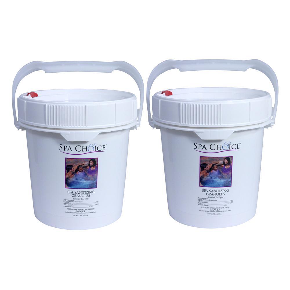 Spa Choice Spa and Hot Tub 5 lb. Sanitizing Granules (2-Pack)-472-3 ...