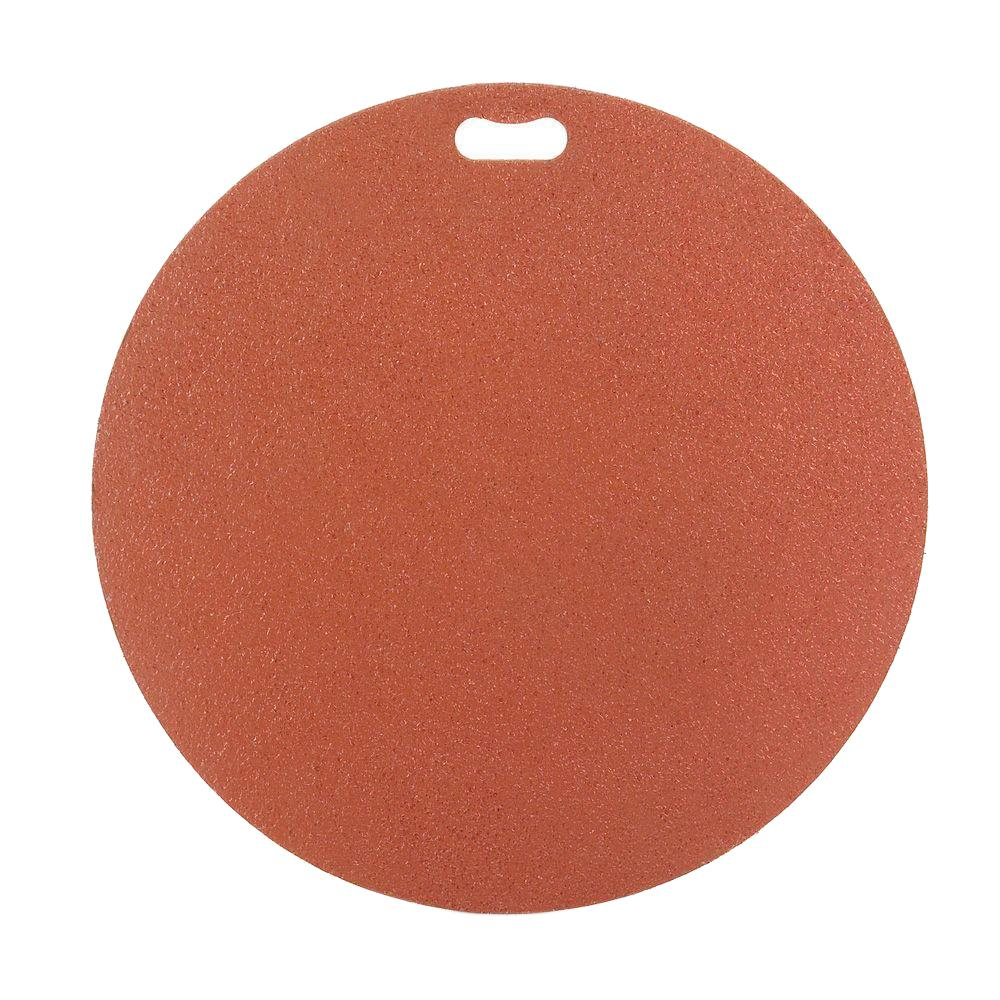 30 in. Round Brick Red Deck Protector