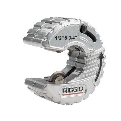RIDGID 1/2 in. - 3/4 in. C-Style Adjustable Copper Tubing Cutter