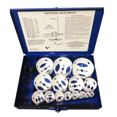 Industrial Xtreme Bi-Metal Hole Saw Kit (20-Piece)