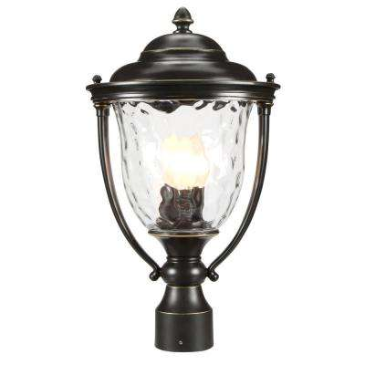 Prestwick Collection 3-Light Oil-Rubbed Bronze Outdoor Post Lantern