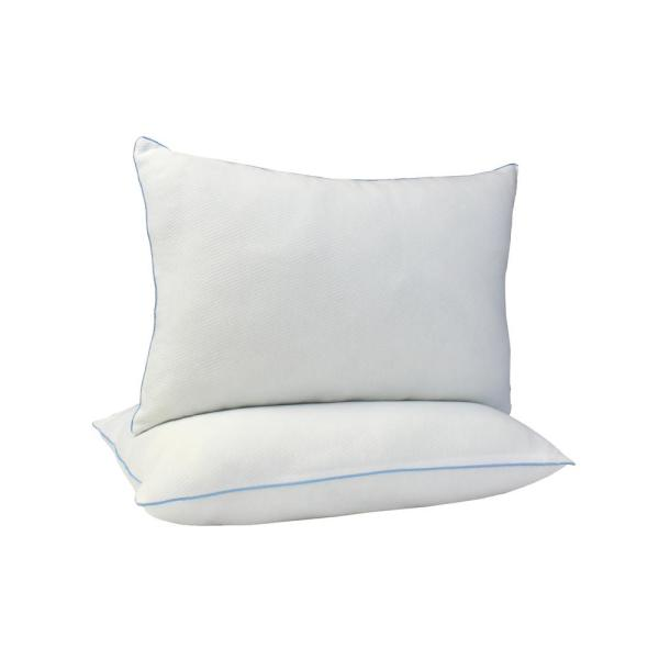 AllerEase Cotton Allergy Protection Hypoallergenic Euro Pillow 3-Year Machine