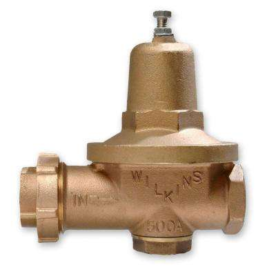 2 in. Lead-Free Brass FPT x FPT Water Pressure Reducing Valve