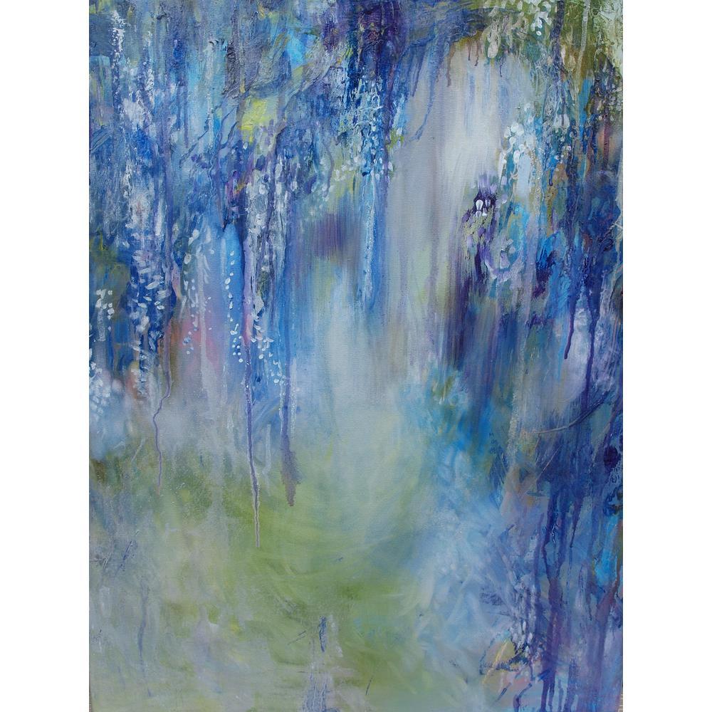 outdoor canvas art. Rhapsody In Blue Outdoor Canvas Art