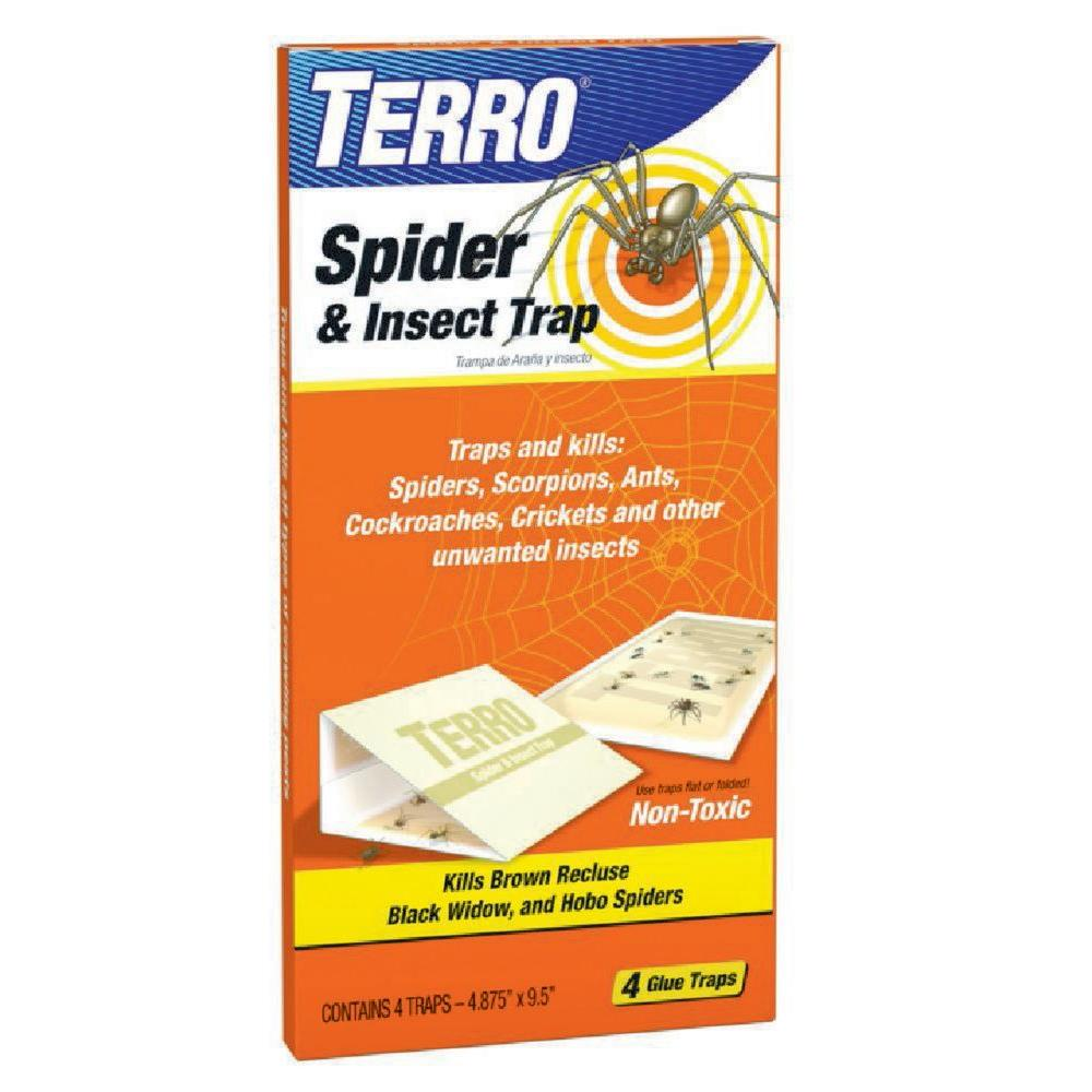 Terro Spider and Insect Trap 4Pack3200 The Home Depot