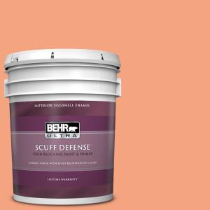 Behr Ultra 5 Gal P190 4 Siren Extra Durable Eggshell Enamel Interior Paint And Primer In One 275405 The Home Depot