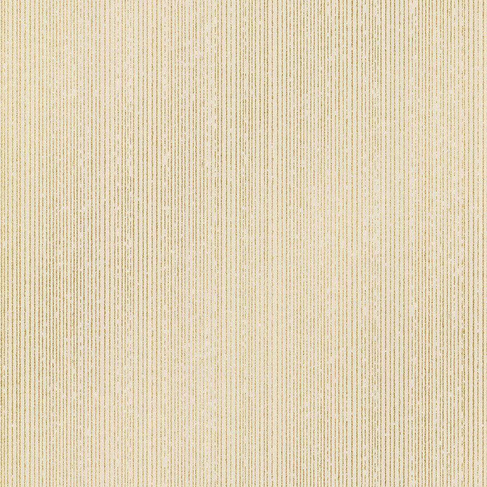 Comares Taupe Stripe Texture Wallpaper