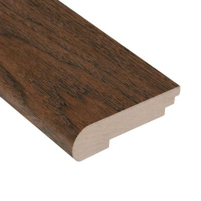 Wire Brushed Benson Hickory 3/8 in. Thick x 3-1/2 in. Wide x 78 in. Length Stair Nose Molding