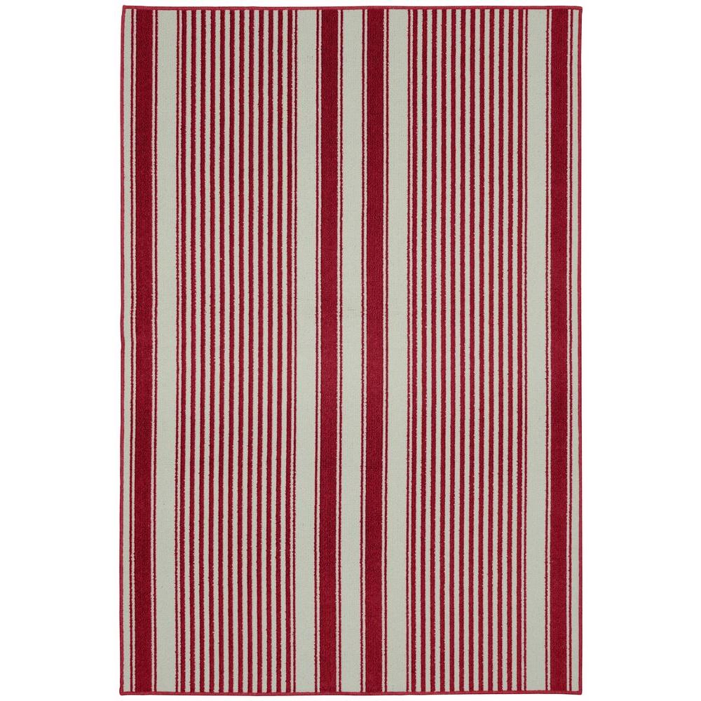 Cape Cod Chilli Red 6 ft. x 8 ft. Area Rug