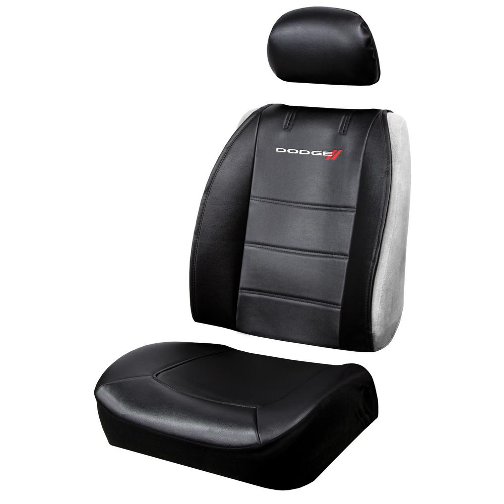Pleasant Plasticolor Dodge 26 In X 22 In X 0 5 In Heavy Duty Sideless 3 Piece Design Seat Cover With Cargo Pocket Andrewgaddart Wooden Chair Designs For Living Room Andrewgaddartcom