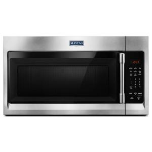 Maytag 30 inch W 1.7 cu. ft. Over the Range Microwave Hood in Fingerprint Resistant Stainless Steel by Maytag
