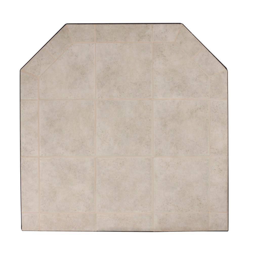 US Stove American Classics 48 in. Type 2 Carmel Tile Hearth Pad ...