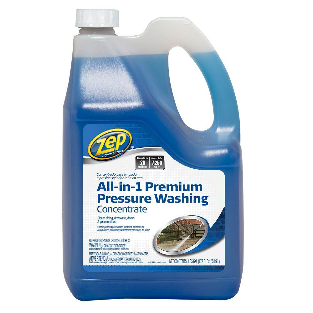 Pressure Washing Cleaner Concentrate 172 Oz Makes 26 Gals