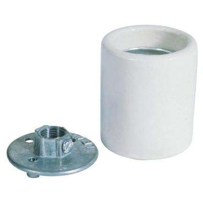 2 in. Porcelain Keyless Socket