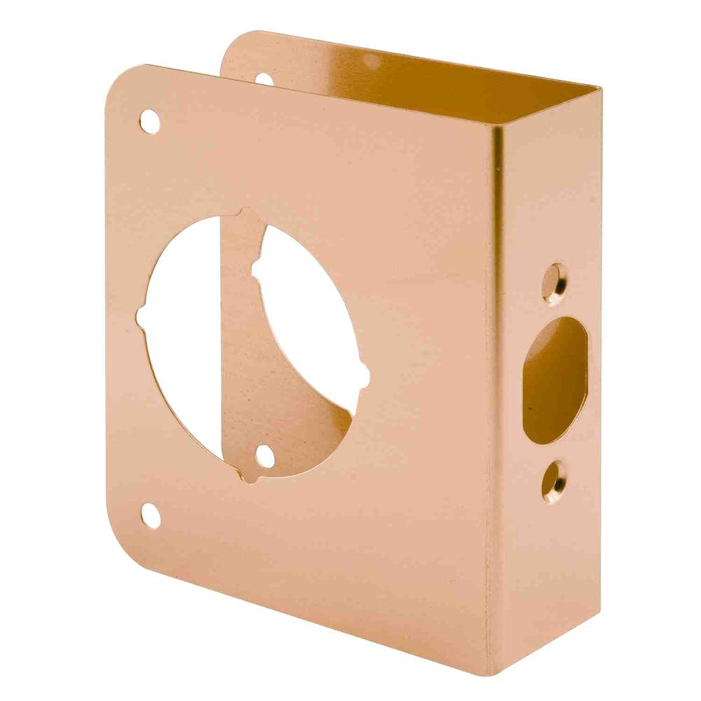 Prime line 1 3 8 in x 4 1 2 in thick solid brass lock for 1 2 lock the door