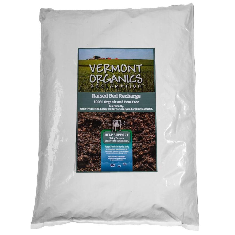 Vermont Organics Reclamation Soil 2.0 cu. ft. Raised Bed Recharge