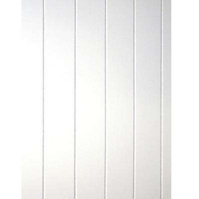 28 sq. ft. Cape Cod MDF V-Groove Wainscot Plank Paneling (18-Piece per Box)