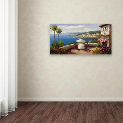 "24 in. x 47 in. ""Italian Afternoon"" by Rio Printed Canvas Wall Art"
