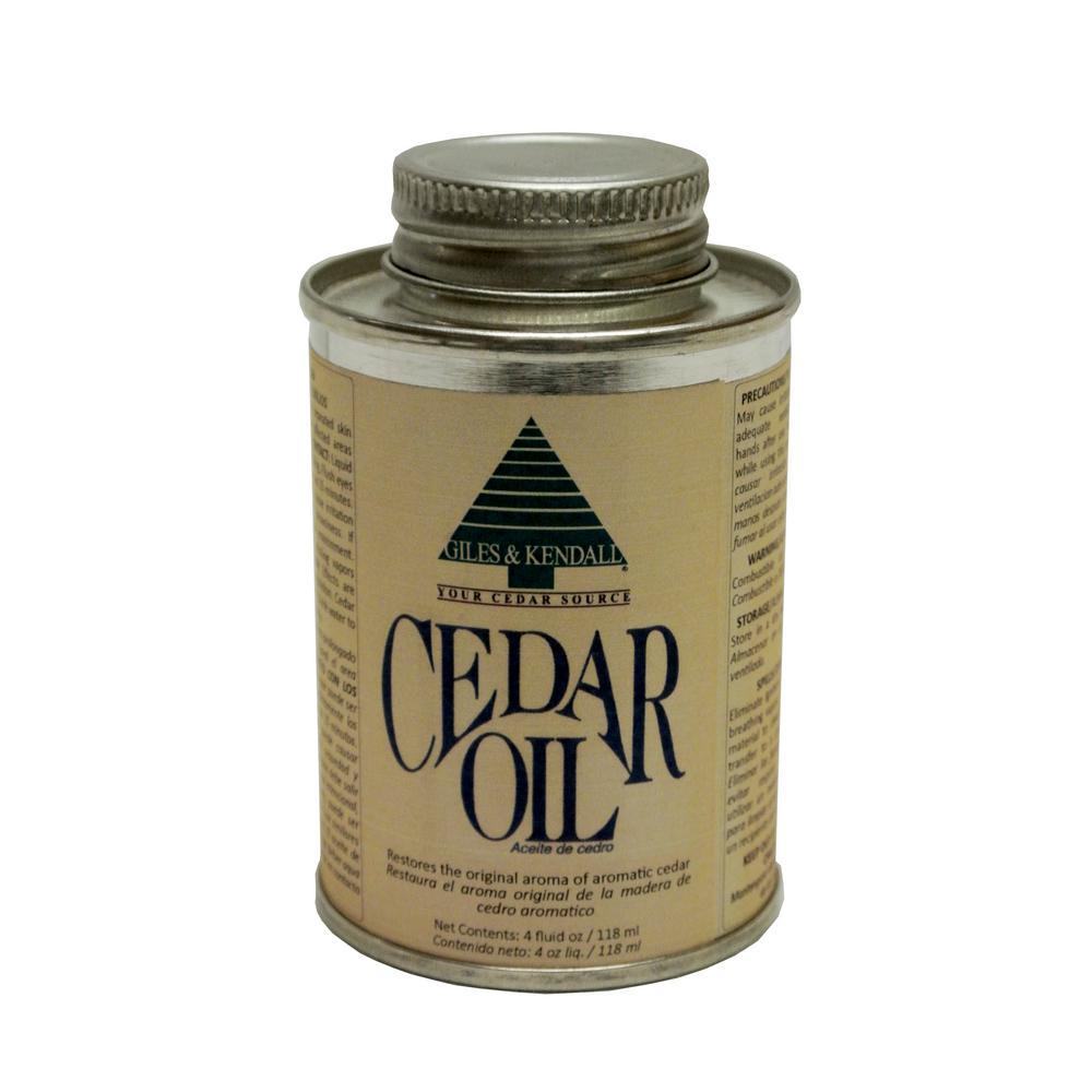 Giles and Kendall 4 oz. Cedar Oil