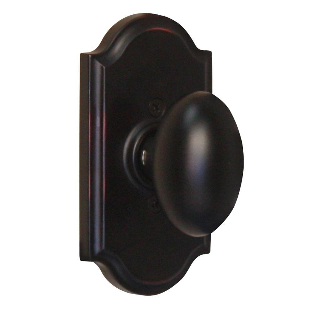 Elegance Oil-Rubbed Bronze Premiere Half-Dummy Julienne Door Knob