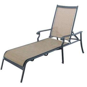 Hampton Bay Solana Bay Patio Chaise Lounge AS ACL 1148   The Home Depot