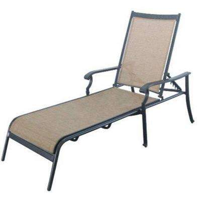 solana bay patio chaise lounge - Garden Furniture Loungers