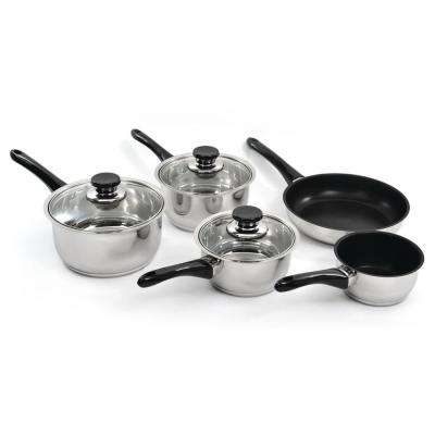 Vision 8-Piece Cookware Set with Glass Lids