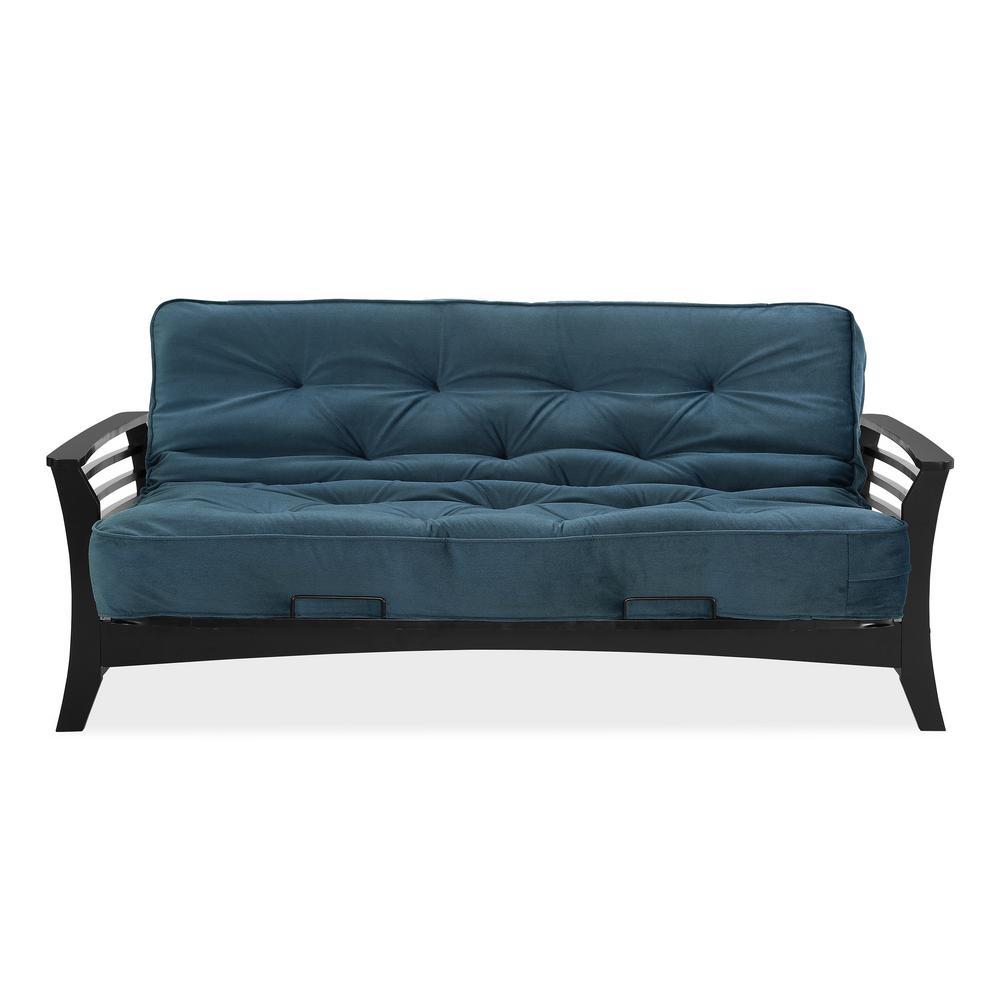 simmons chicago indigo futon simmons chicago indigo futon si ex chi wg 3i   the home depot  rh   homedepot
