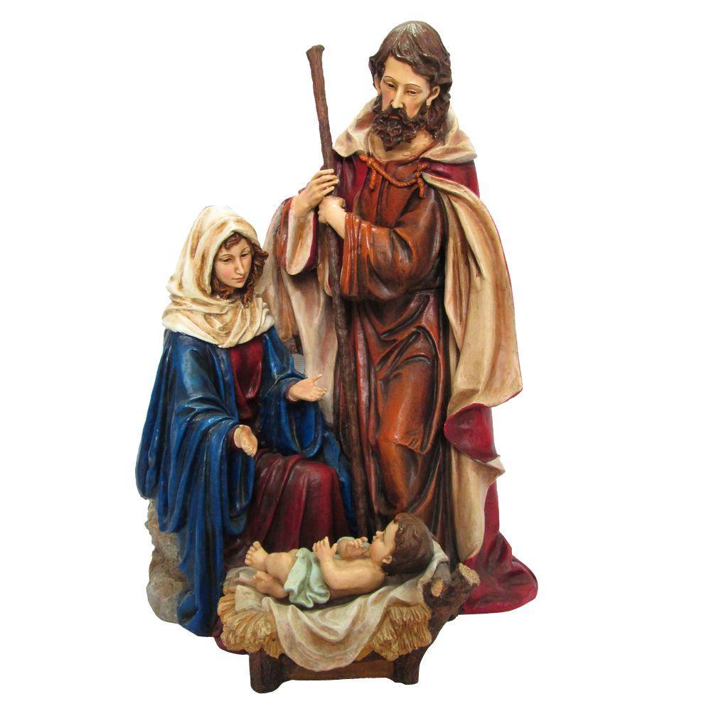 Joseph, Mary and Jesus Figures Set