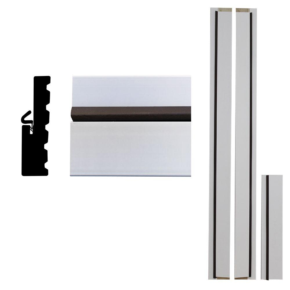 Door frame door frame kits home depot - Frontline 4ever Frame 1 1 4 In X 6 9 16 In X 83 In Primed Composite Door Frame Kit Ulpa30686901 The Home Depot
