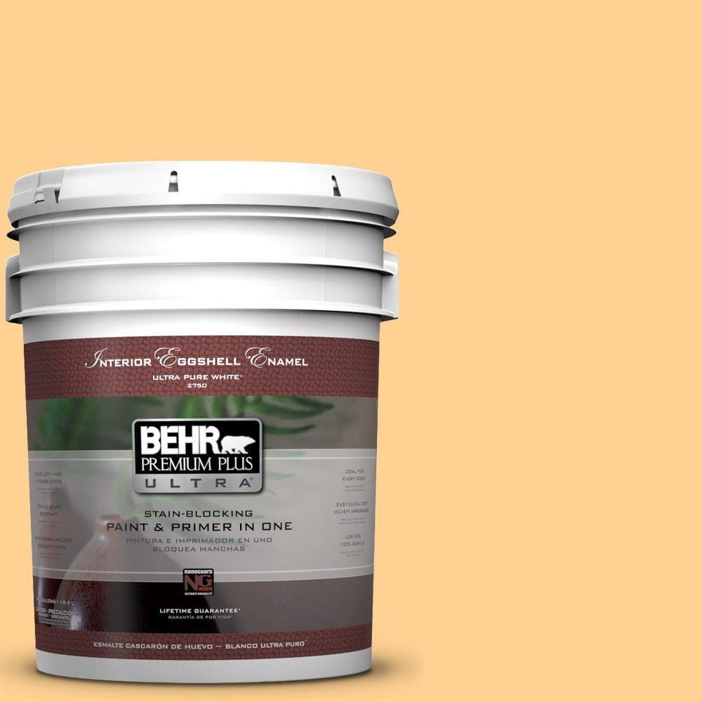 BEHR Premium Plus Ultra 5-gal. #HDC-SP14-7 Full Bloom Eggshell Enamel Interior Paint