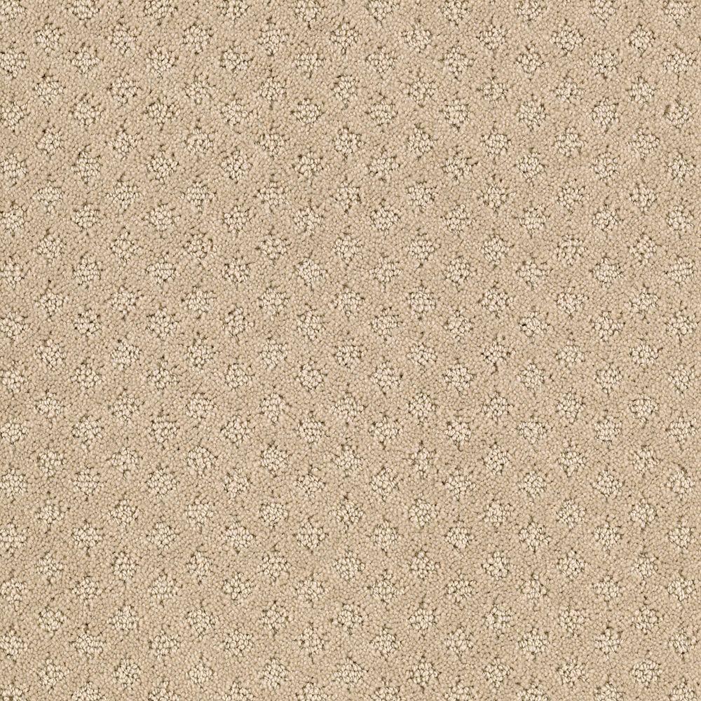 Lilypad - Color Beach Pebble Pattern 12 ft. Carpet