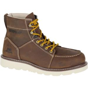 6487a076649 CAT Footwear Tradesman Men's Size 7-1/2M Chocolate Brown Boots ...