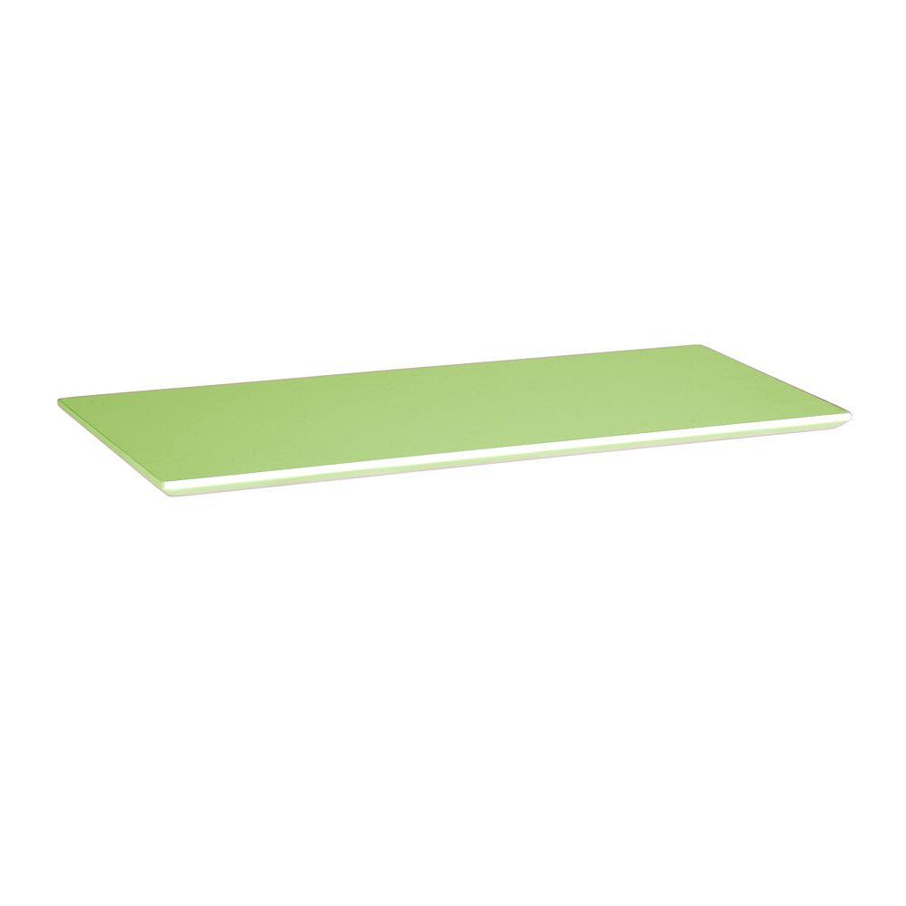 Home Decorators Collection 37.5 in. Green Mantel Top for Folding and Stacking Bookcase