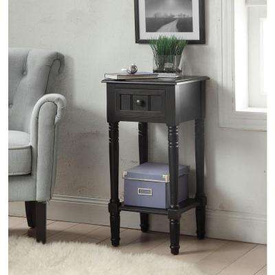 Simplicity Black End Table