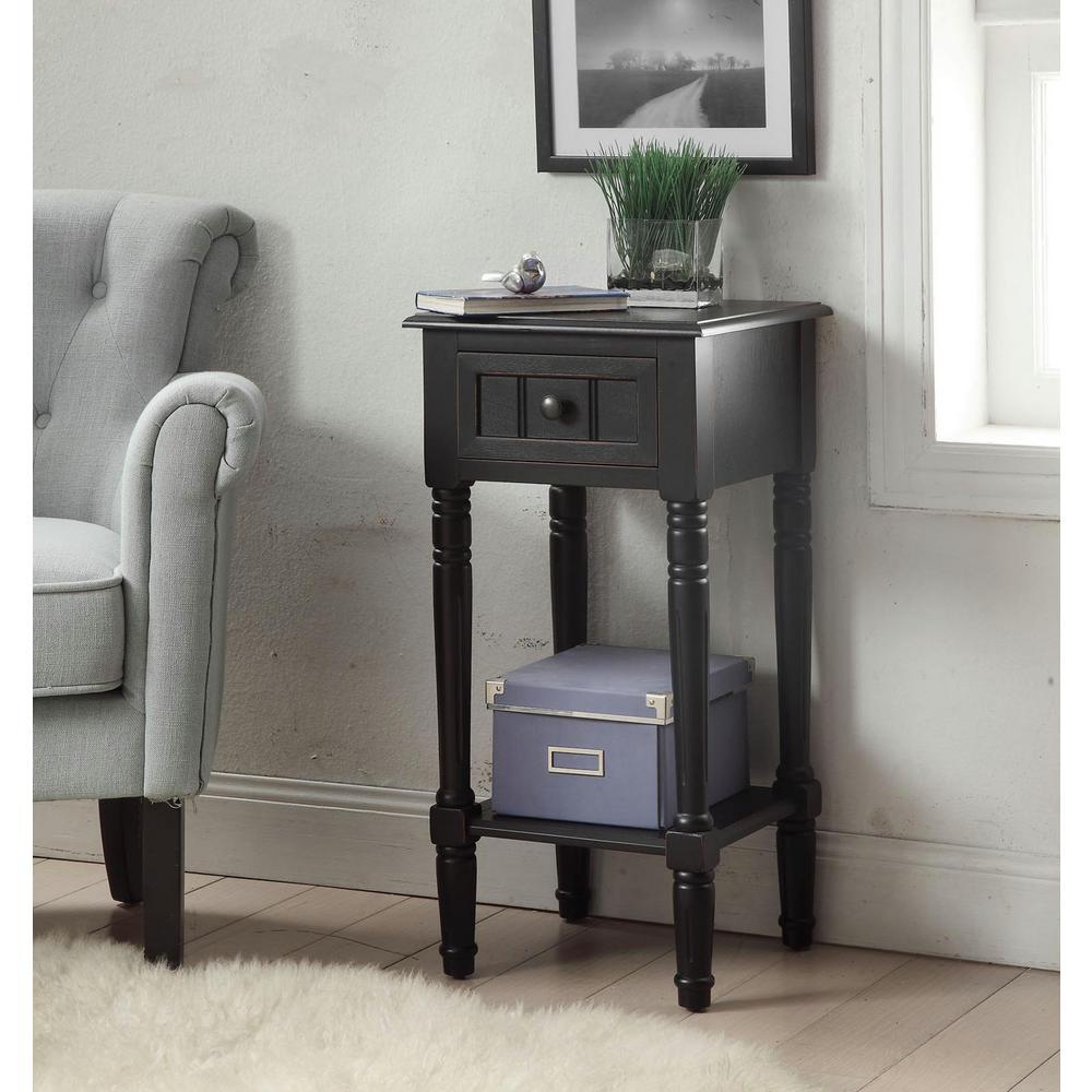 Simplicity Black End Table